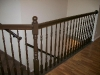 Chocolate brown banister