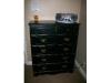 Black antiqued dresser