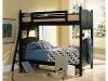 Black bunkbeds