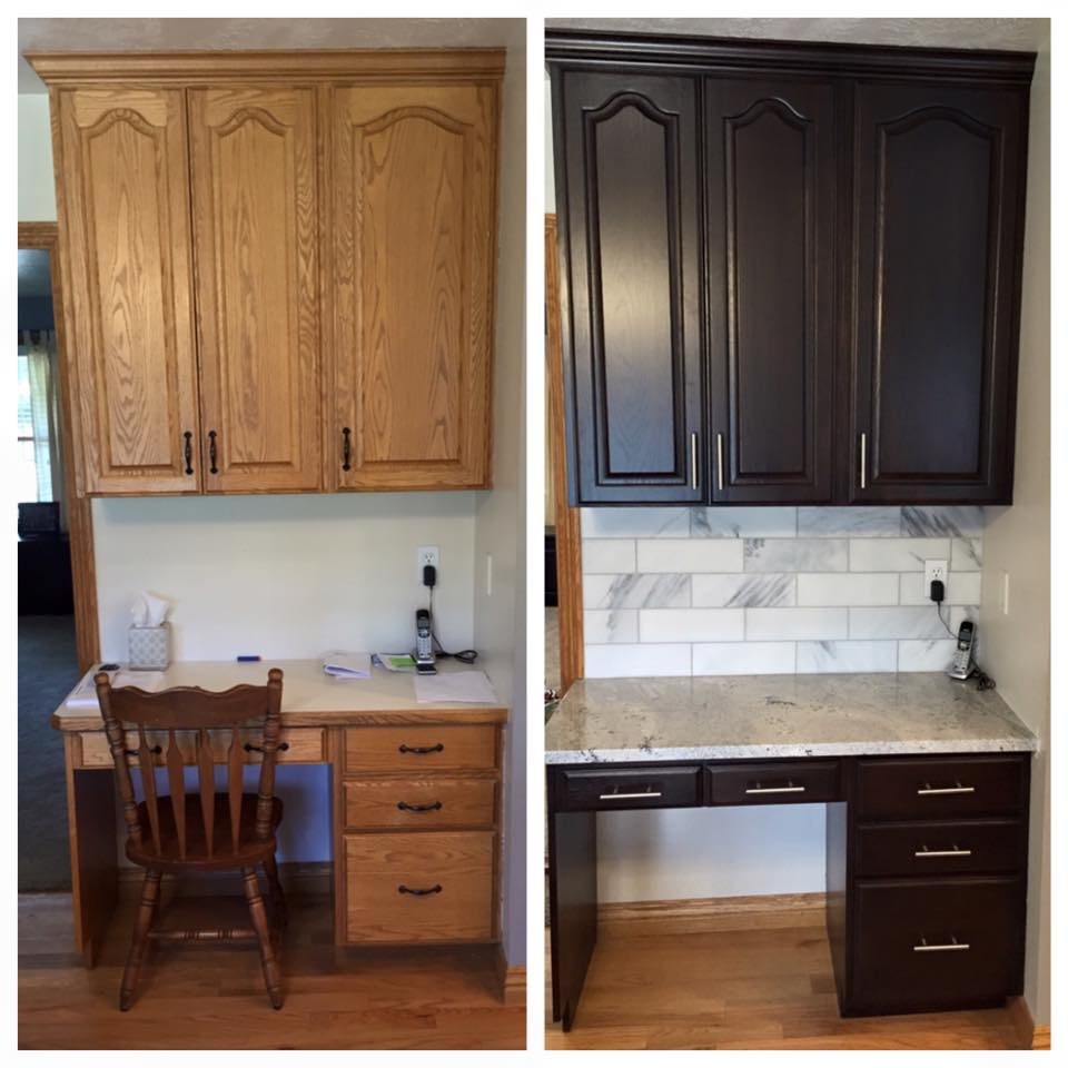 Kitchen Cabinets Salt Lake City: Before And After Telisa's Furniture And Cabinet