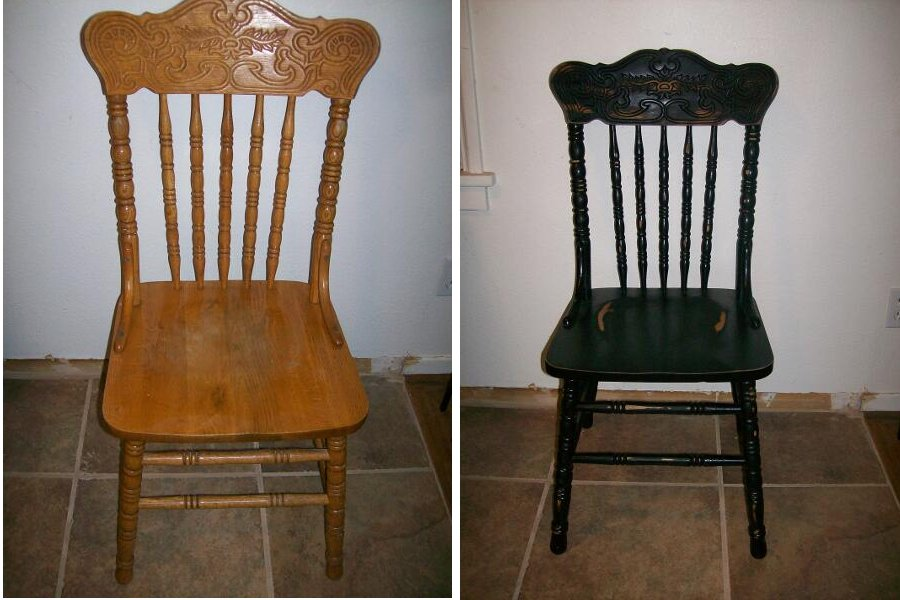 Before And After Telisa S Furniture And Cabinet