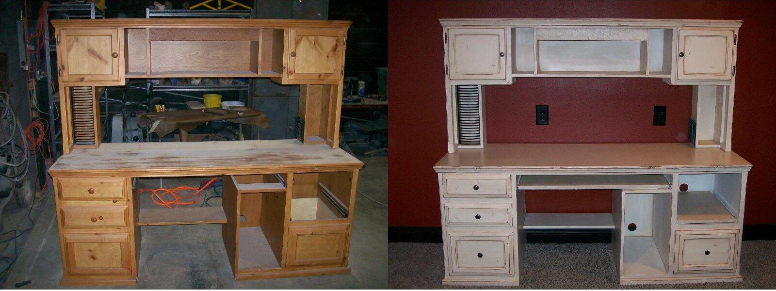 Реставрация мебели своими руками до и после