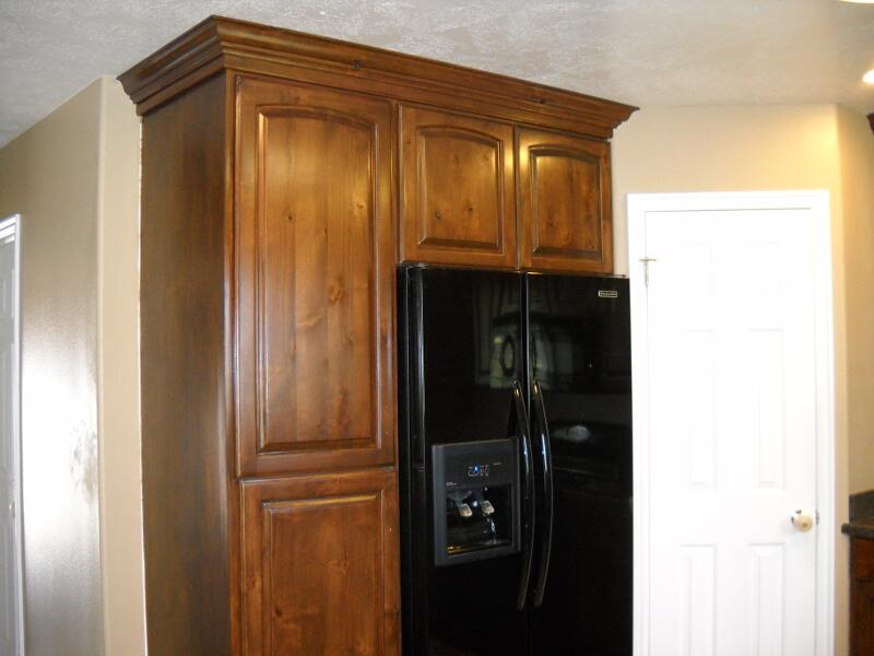 Cabinets telisa 39 s furniture and cabinet refinishing for Chocolate brown cabinets