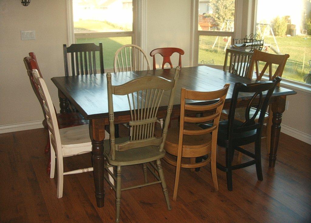 Multi Color Diningroom Set
