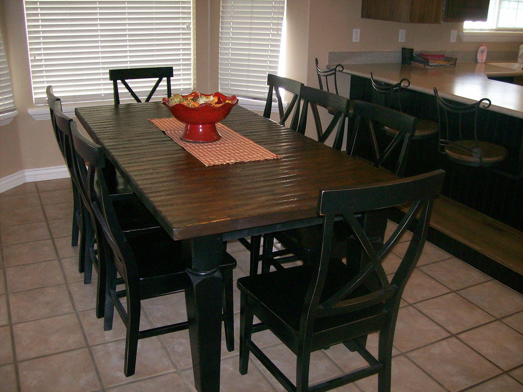 Dining room sets utah tables honey