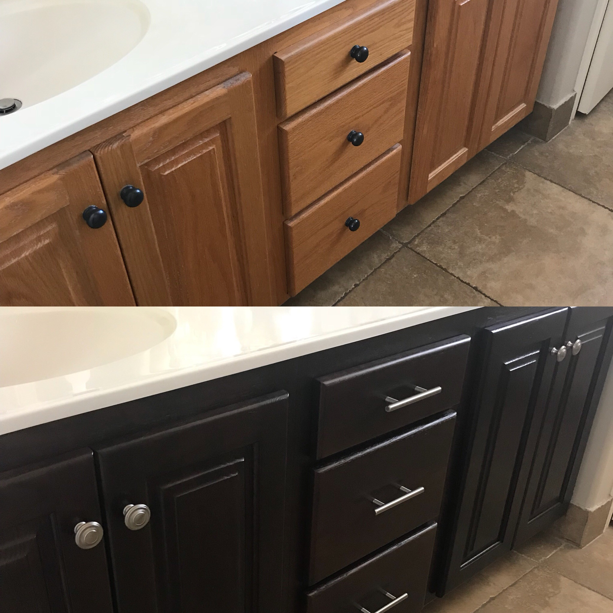 Swell Before And After Telisas Furniture And Cabinet Refinishing Home Interior And Landscaping Ponolsignezvosmurscom